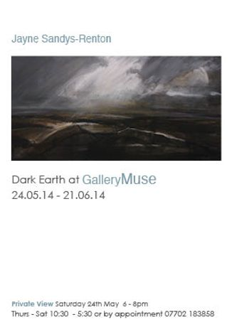 Dark Earth. Landscape paintings of Jayne Sandys-Renton: Image 0