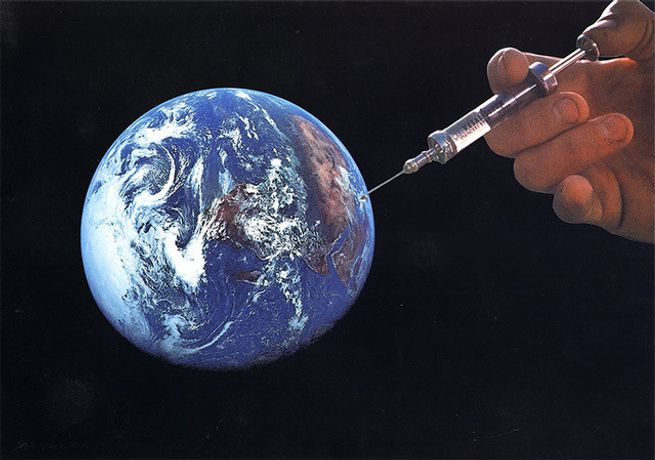 Joe Webb, 'Vaxxed'