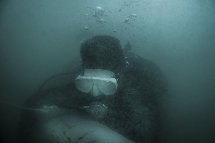 Dark Water- 'Cambodia's UXO Salvage Divers': Image 2