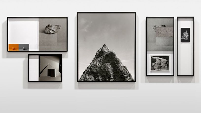Installation view (detail), Darren Harvey- Regan, Metalepsis, various print materials, 560 x 132cm