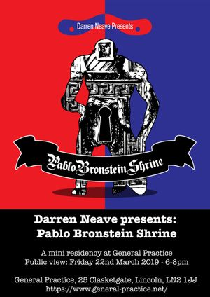 Darren Neave presents: Pablo Bronstein Shrine