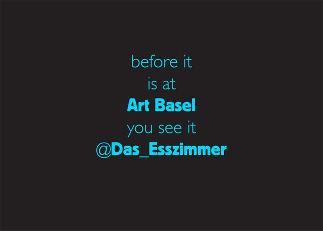 Das Esszimmer goes Outer Space during Art Basel | Pop-Up Gallery/OFF-Space Lounge: Image 0