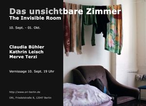 Das unsichtbare Zimmer // The Invisible Room