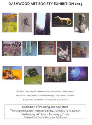 Dashwood Art Society Exhibition 2013