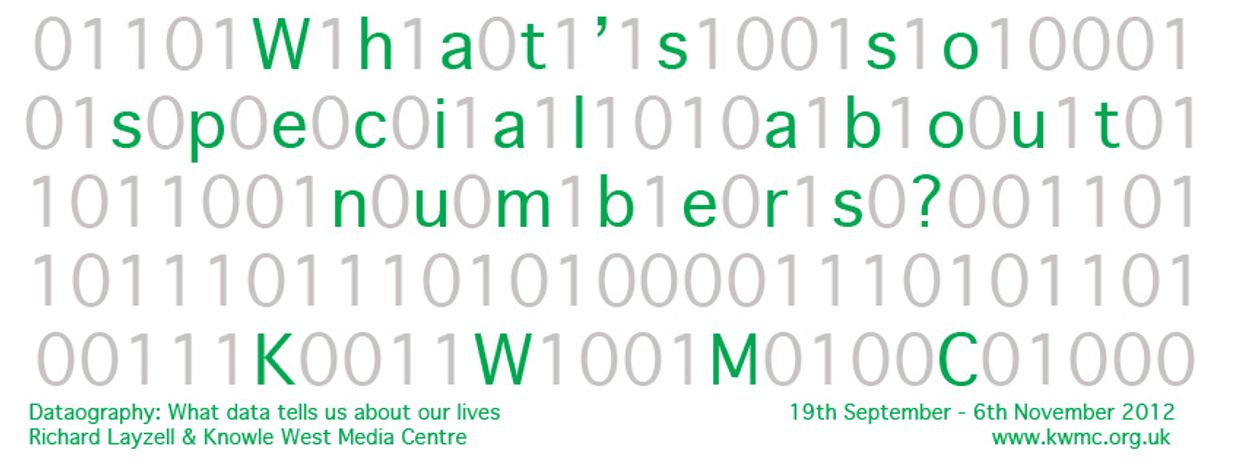 Dataography: What data tells us about our lives: Image 0