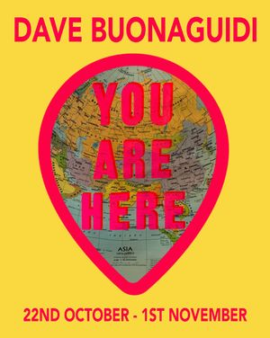 Dave Buonaguidi's 'You Are Here' private view