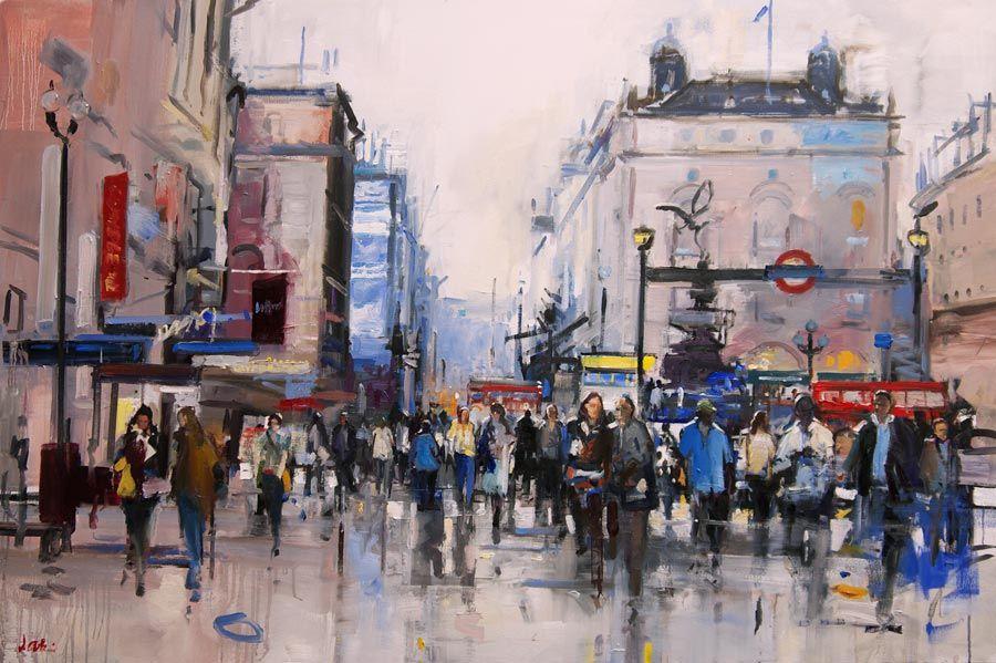 Art Events Calendar London : David atkins london life exhibition at albemarle gallery