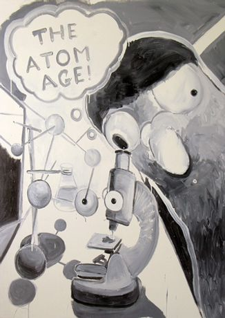 DAVID BEN WHITE 'The Atom Age': Image 0