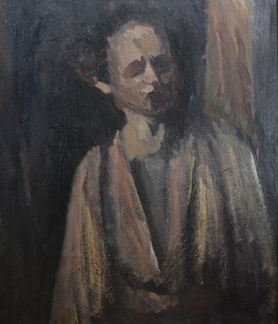 David Bomberg, Self Portrait, 1931, Oil on canvas, 76 x 64 cm