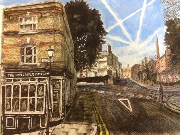 David Downes: The Draw of Hampstead: Image 0