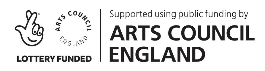 this project funded with the help of Arts Council England