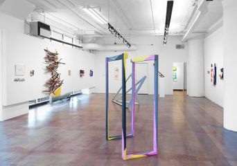 Geary Contemporary, Installation View, David Goodman, FOUNDATION, 2017