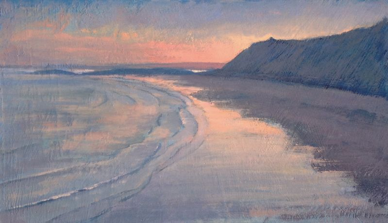 Evening Light, Llangennith, Thomas Haskett