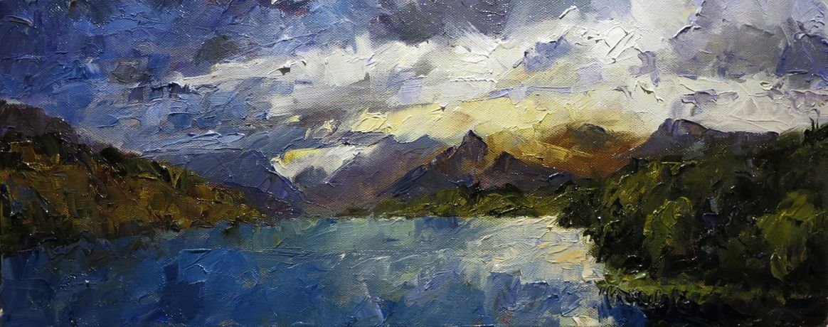 Llanberis Lake, Llyn Padarn II, David Grosvenor