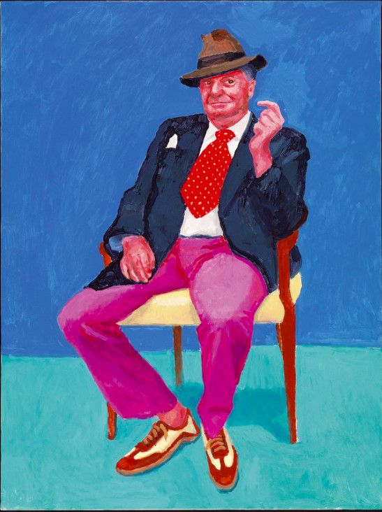 David Hockney 82 Portraits And 1 Still Life Exhibition