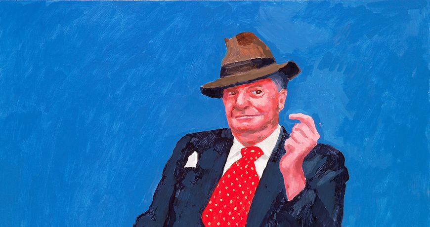 David Hockney RA: 77 Portraits, 2 Still Lifes: Image 0