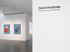 David Hockney Some New Painting (and Photography)
