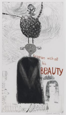 Kaisarion and All His Beauty, 1961, David Hockney