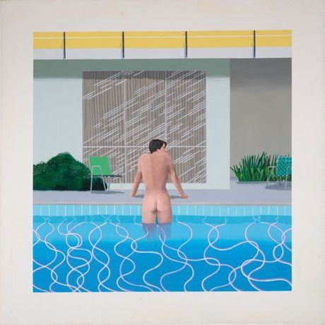 David Hockney, Peter Getting Out of Nick's Pool 1966