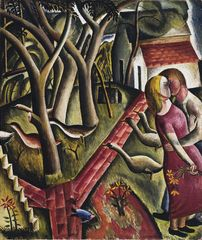 David Jones, The Garden Enclosed, 1924 © Trustees of David Jones - Tate, London 2015