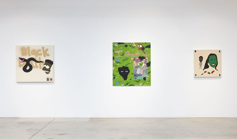 Why you really mad? Installation view, Steve Turner, Los Angeles, 2020
