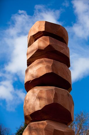 David Nash at Yorkshire Sculpture Park: Image 0