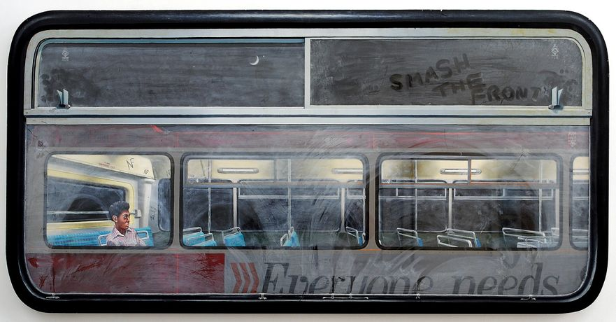 David Redfern, Smash the Front, painted 1978