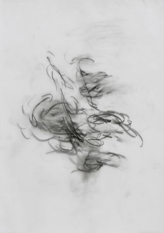 David Schutter, ICG PP 1, 2015, graphite on parchment paper, 42 x 29,7 cm