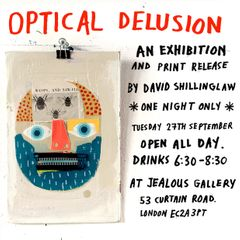 David Shillinglaw Optical Delusion flyer