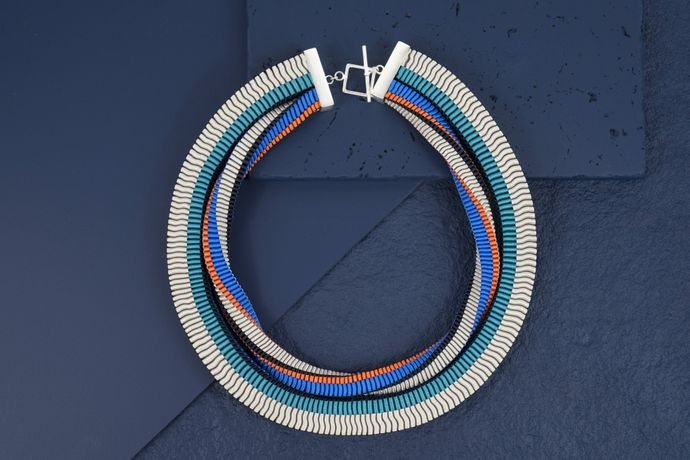 Emma Calvert, Two Strand necklace at dazzle@oxo