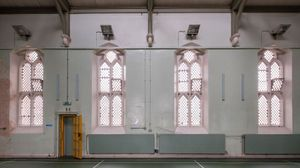 The old prison chapel at HM Prison Reading. Photograph: Morley von Sternberg, June 2016 (c) Artangel