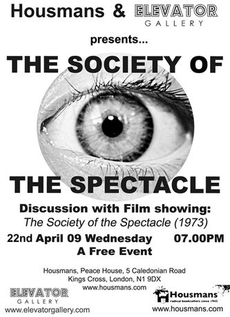 Debord and 'SOCIETY OF THE SPECTACLE': Image 0
