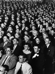 J.R. Eyerman [1952] Audience at the opening-night screening of Bwana Devil, the first full-length colour 3-D movie. Paramount Theatre, Hollywood, 26 Nov 1952.