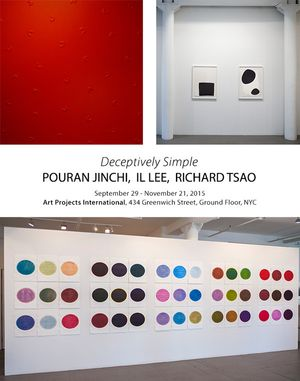 Deceptively Simple: POURAN JINCHI, IL LEE, RICHARD TSAO