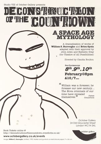 Deconstruction of the Countdown: A Space Age Mythology by William S. Burroughs and Brion Gysin: Image 0