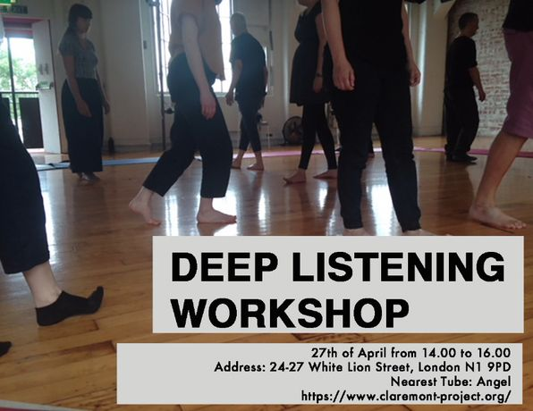 Deep Listening Workshop
