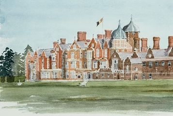 Sandringham House by HRH The Prince of Wales