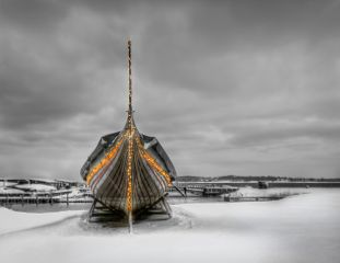 Viking Ship by Jacob Surland