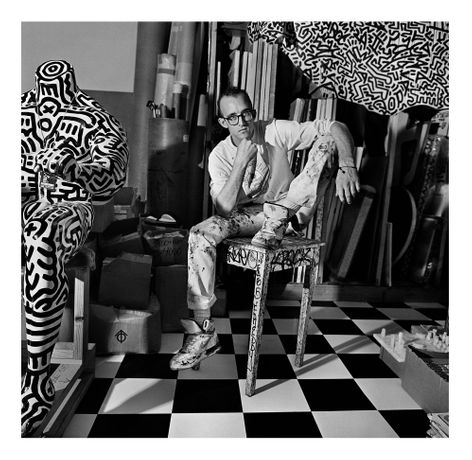 Keith Haring, New York, 1988