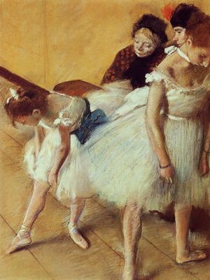 Edgar Degas (1834-1917), Dance Examination, 1880, Pastel on paper © Denver Art Museum