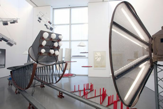 Dennis Oppenheim: Thought Collision Factories: Image 0