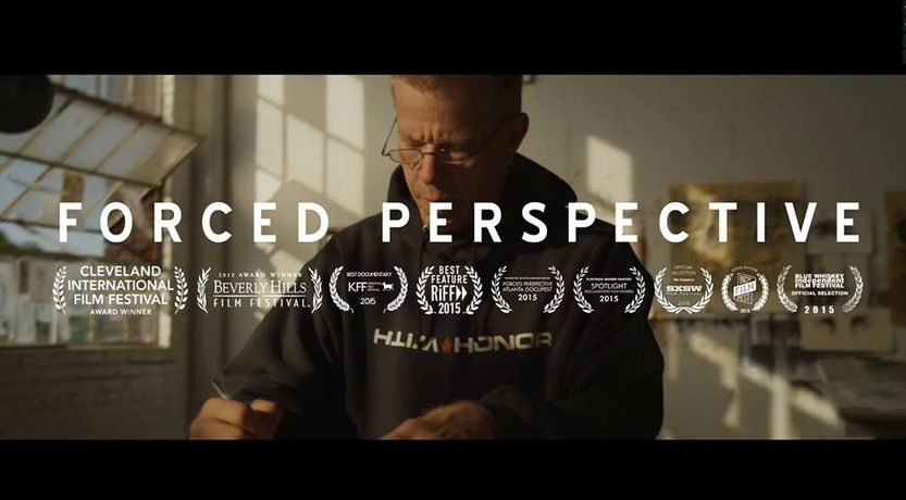Derek Hess in London - Forced Perspective - Screening and Q&A with Derek Hess: Image 1