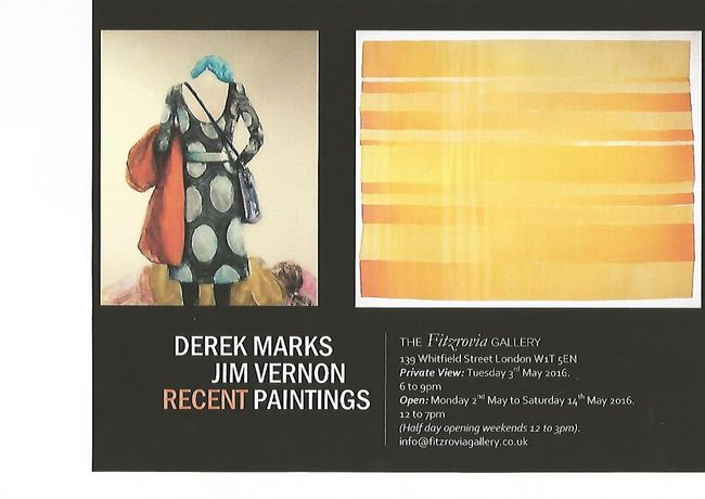 Derek Marks and Jim Vernon: Recent Paintings: Image 0