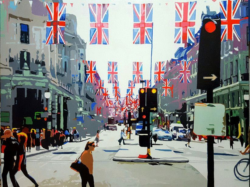 Art Events Calendar London : Deric ch ng 'london cityscapes art show spring