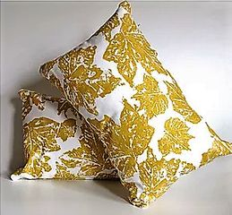 Hand designed & printed cushions by Witts Design