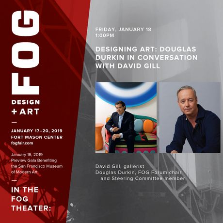 Designing Art: Douglas Durkin in Conversation with David Gill: Image 0