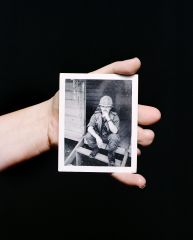Mathieu Asselin Heather Bowserholds a photograph of her father, Morris Bowser, Ohio, 2012 © Mathieu Asselin, all rights reserved « Prev