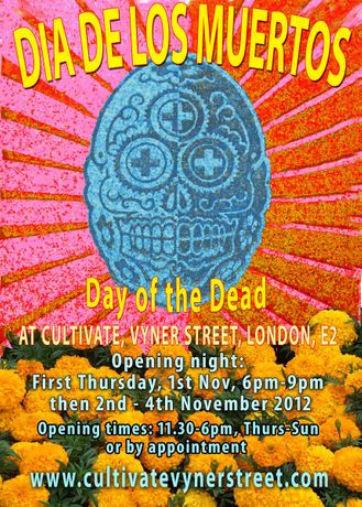 DIA DE LOS MUERTOS (DAY OF THE DEAD @ CULTIVATE VYNER STREET: Image 0