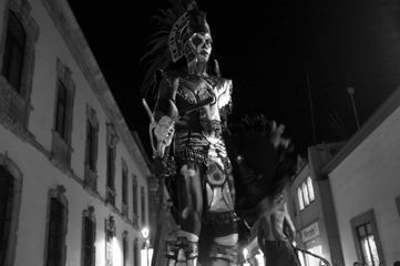 Stilt dancer, Oaxaca