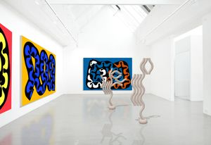 Installation view: Diango Hernández, Instopia, Galerie Barbara Thumm, 2021, New Viewings